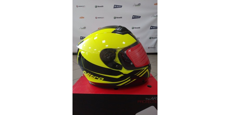 Шлем NITRO N2400 Yellow/Black