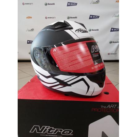 Шлем NITRO N2400 Satin Black/White