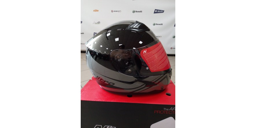 Шлем NITRO N2400 Black/Gun