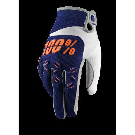 Мото перчатки Ride 100% AIRMATIC Glove синие MD