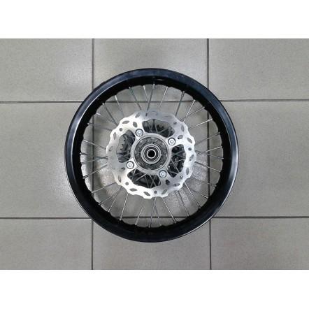Диск легкосплавный задний 1,85х14 с тормозным диском (190 мм) и звездой (428х76х41) X-PIT 150