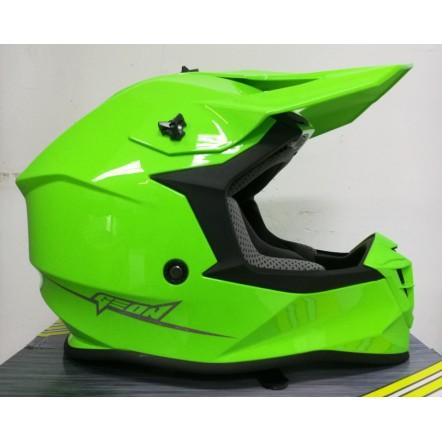 Мотошлем Geon 633 MX Fox Cross Neon Green M,L,XL