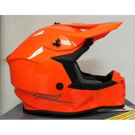 Мотошлем Geon 633 MX Fox Cross Neon Orange XL