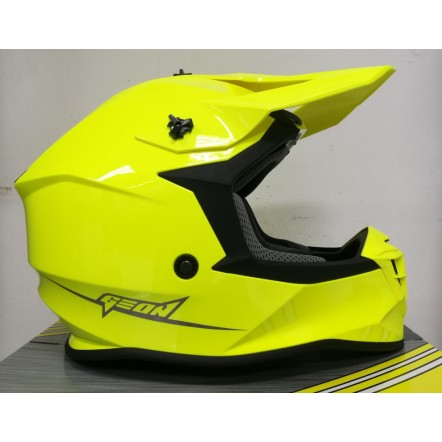 Мотошлем Geon 633 MX Fox Cross Neon Yellow XL