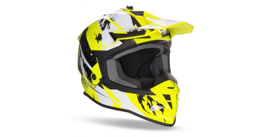 Geon 633 MX Fox Cross Black/Neon Yellow