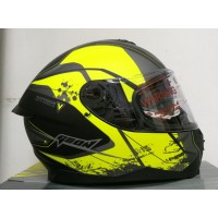 Мотошлем Geon 967-2 Air yellow/black