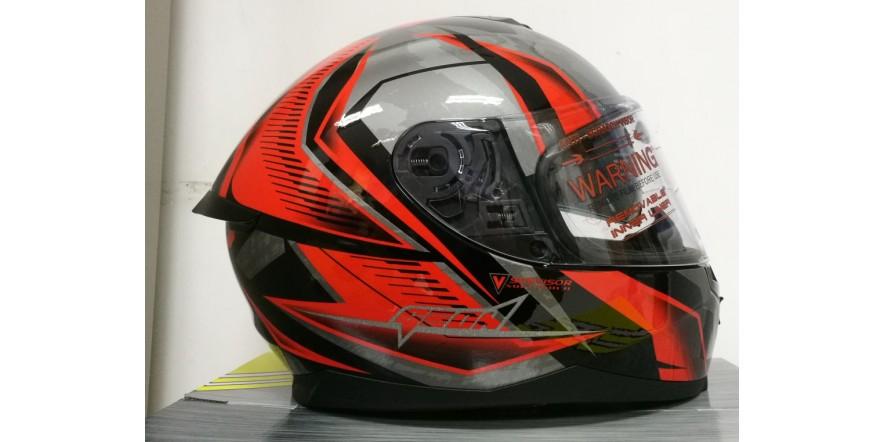 Geon 967-2 Scorpio Red/Black