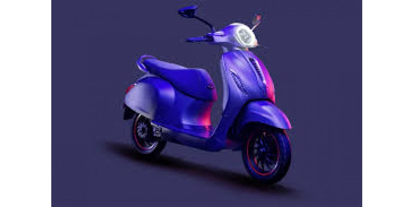 Bajaj Chetak - первый электрический скутер от компании Bajaj