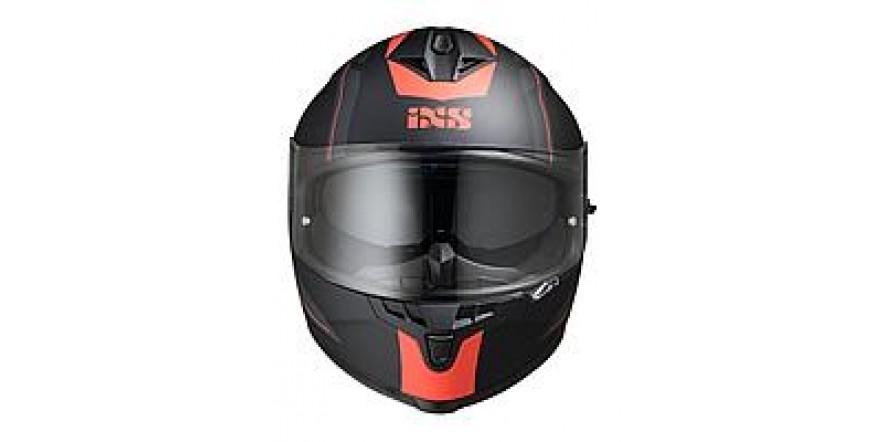 Шлем IXS 215 2.0 (Black red matt)