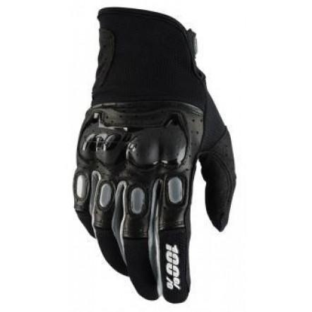 Мото перчатки Ride 100% Derestricted Glove (Black/Grey)
