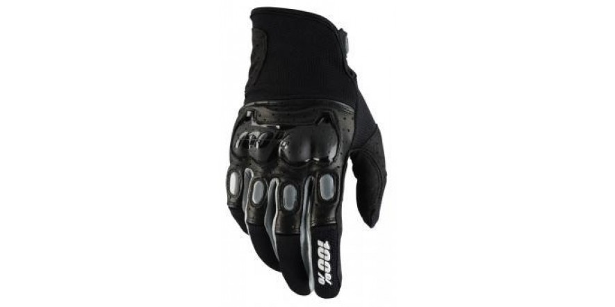 Мото перчатки Ride 100% Derestricted Glove (Black/Grey)