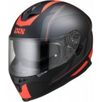 Мотошлем IXS 1100 2.0 Black Red matt
