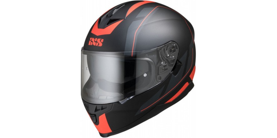 Шлем IXS 1100 2.0 Black Red matt