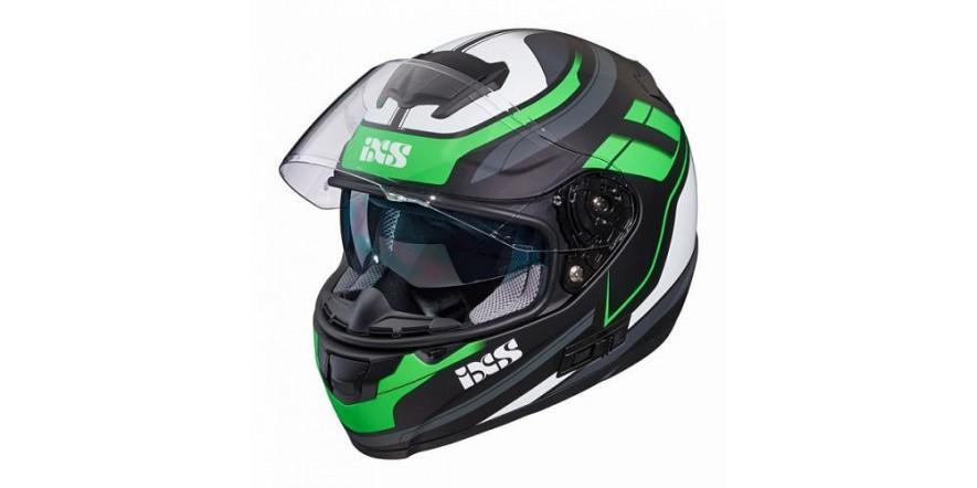 Шлем IXS 215 2.0 (Black Green matt)