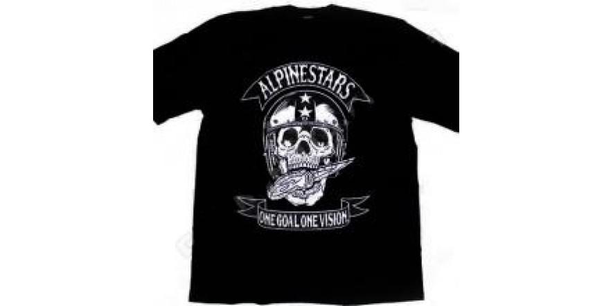 Футболка Alpinestars Skull