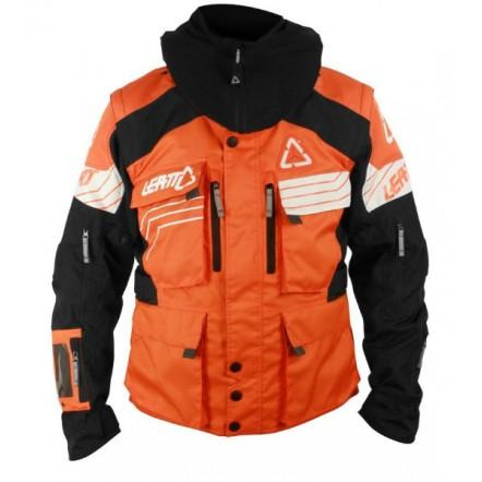 Мото куртка LEATT GPX W.E.C. jacket черно-оранжевая