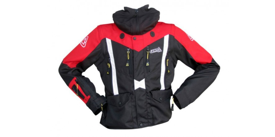 Мото куртка LEATT GPX Adventure Jacket красная