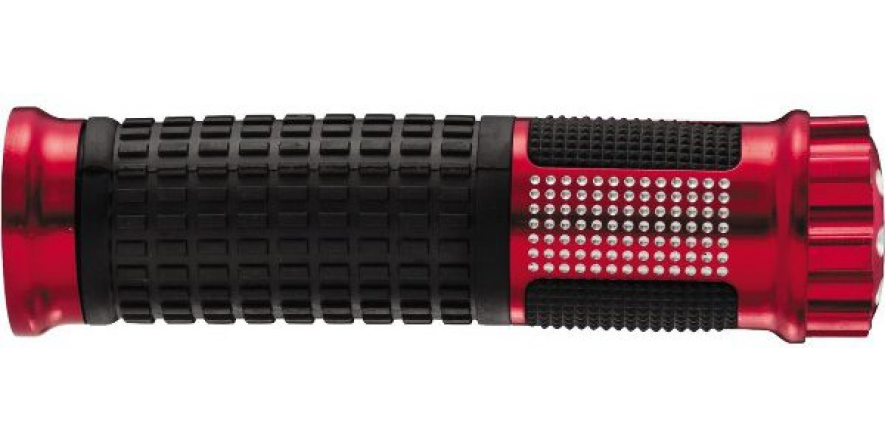 "Рукоятки BikeMaster Revolver II 7/8"" 140mm, красный"