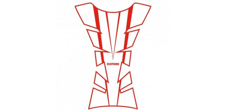 Наклейка на бак Oxford Sheer Arrow Tank Pad, Red