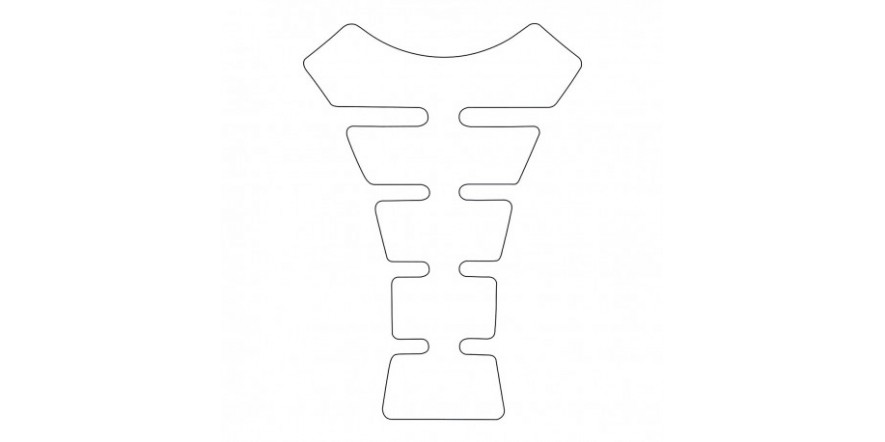 Наклейка на бак Oxford Spine, Clear