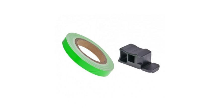 Полосы на диски Oxford Wheel Stripes Reflect, Green