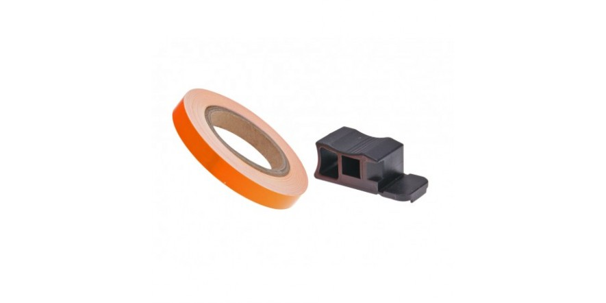 Полосы на диски Oxford Wheel Stripes Reflect, Orange