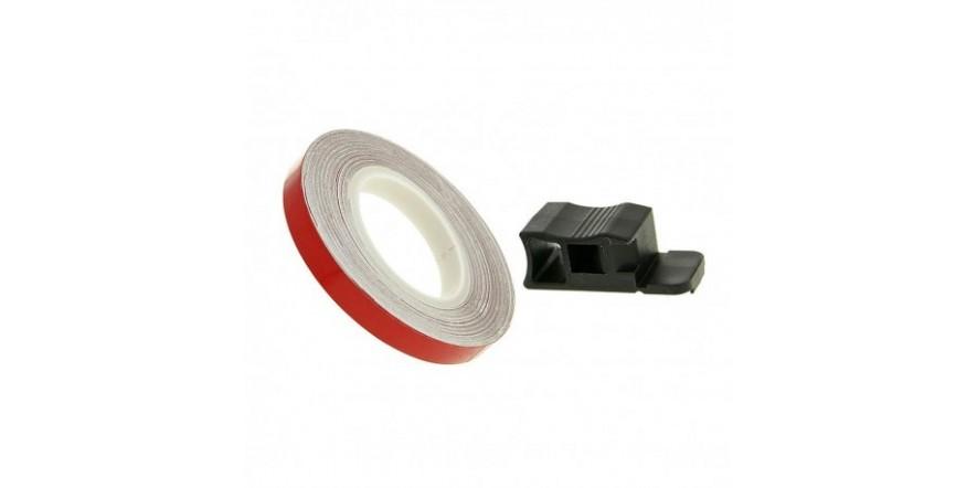 Полосы на диски Oxford Wheel Stripes Reflect, Red