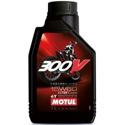 Масло MOTUL 4T 300V Factory Line Off Road SAE 15W60 (1L)
