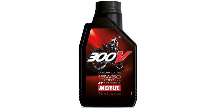 MOTUL 4T 300V Factory Line Off Road SAE 15W60 (1L)