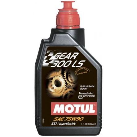 Масло MOTUL Gear 300 LS SAE 75W90 (1L)