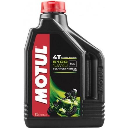 Масло MOTUL 5100 4T SAE 10W40 (2L)
