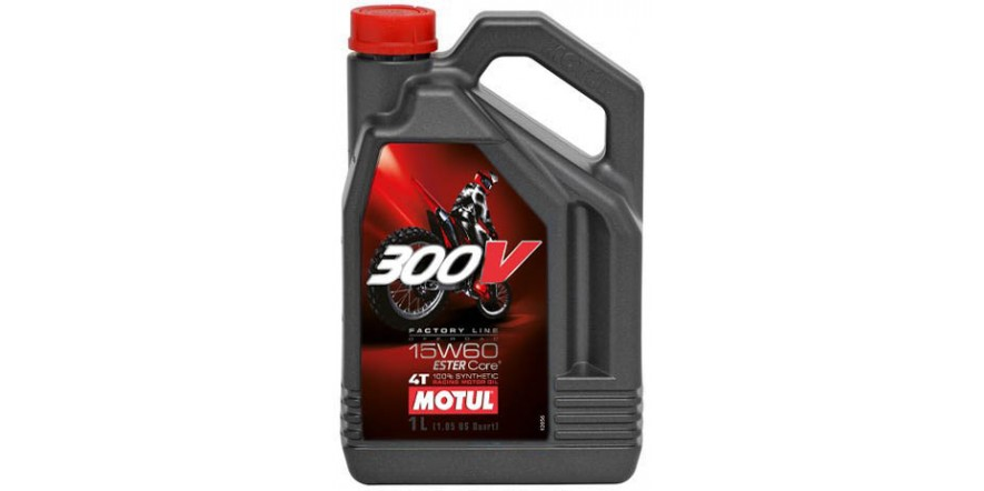 MOTUL 4T 300V Factory Line Off Road SAE 15W60 (4L)