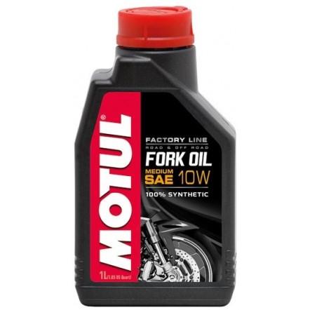 Масло MOTUL Fork Oil Medium Factory Line SAE 10W (1L)