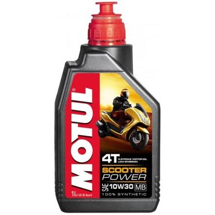Масло MOTUL 4T Scooter Power 10W30 MB 1L/105936