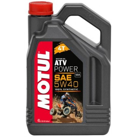 Масло MOTUL 4T ATV Power SAE 5W40 (4L)