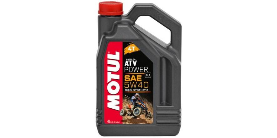 MOTUL 4T ATV Power SAE 5W40 (4L)