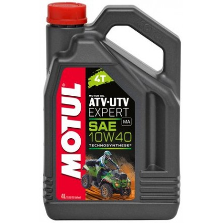 Масло MOTUL 4T ATV-UTV Expert SAE 10W40 (4L)