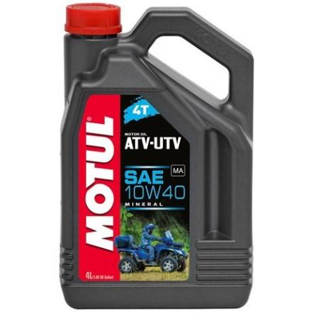 Масло MOTUL 4T ATV-UTV SAE 10W40 (4L)