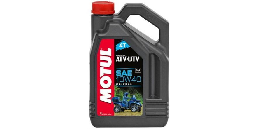 MOTUL 4T ATV-UTV SAE 10W40 (4L)
