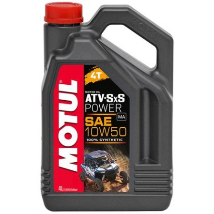 Масло MOTUL 4T ATV-SxS Power SAE 10W50 (4L)