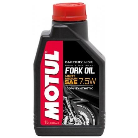 Масло MOTUL Fork Oil Light/Medium Factory Line SAE 7,5W (1L)