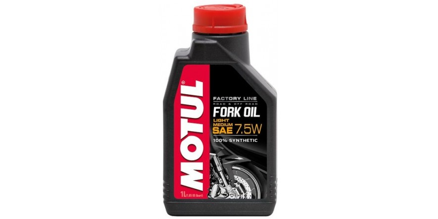 MOTUL Fork Oil Light/Medium Factory Line SAE 7,5W (1L)