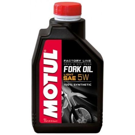 Масло MOTUL Fork Oil Light Factory Line SAE 5W (1L)