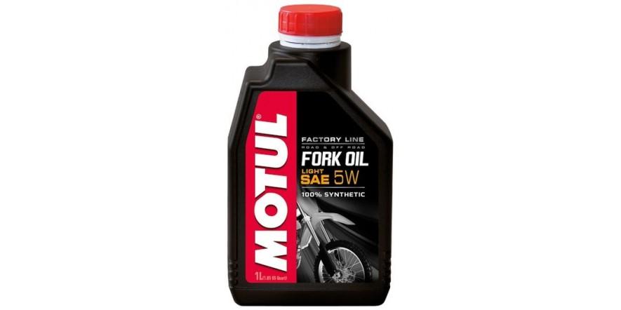 MOTUL Fork Oil Light Factory Line SAE 5W (1L)