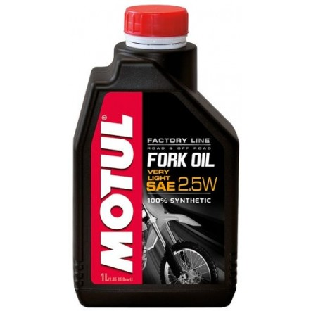Масло MOTUL Fork Oil Very Light Factory Line SAE 2,5W (1L)