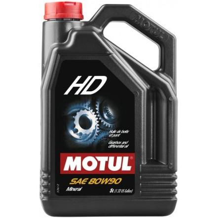 Масло MOTUL HD SAE 80W90 (5L)