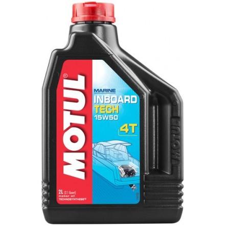 Масло MOTUL Inboard Tech 4T SAE 15W50 (2L)
