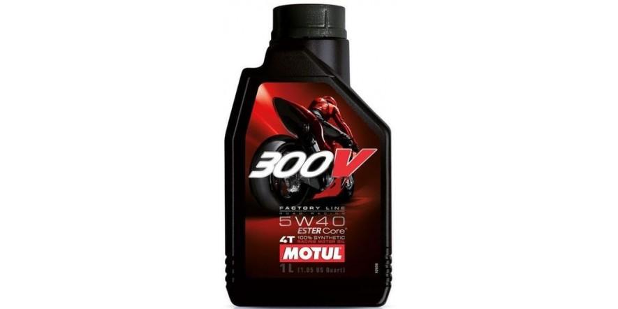 MOTUL 300 V 4T Factory Line Road Racing SAE 5W40 (1L)