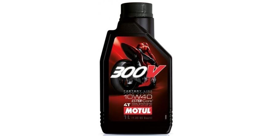 MOTUL 300V 4T Factory Line Road Racing SAE 10W40 (1L)