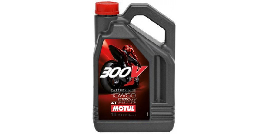 MOTUL 300V 4T Factory Line Road Racing SAE 15W50 (4L)